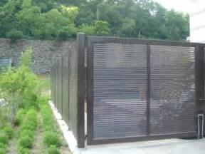 Shadow 80 steel fence gates aluminum fence gates perforated
