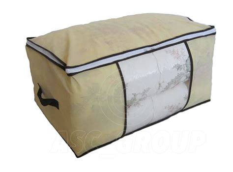 storage for comforters duvet bedding clothing linnen pillows large storage bag