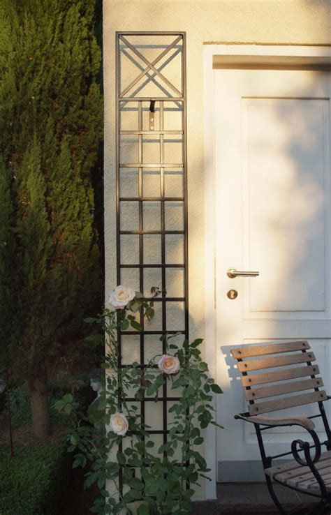 Thin Trellis Narrow Wall Trellis 2 Pack Garden Artisans Llc