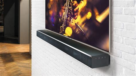 sound bar mount on top of tv best soundbars 2018 the top uk soundbars and soundbases
