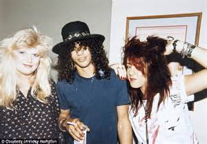 Red Bedroom Records - guns n roses first manager vicky hamilton reveals all daily mail online