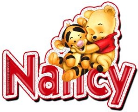 imagenes animadas nombre nancy nancy nombre gif gifs animados nancy 015817