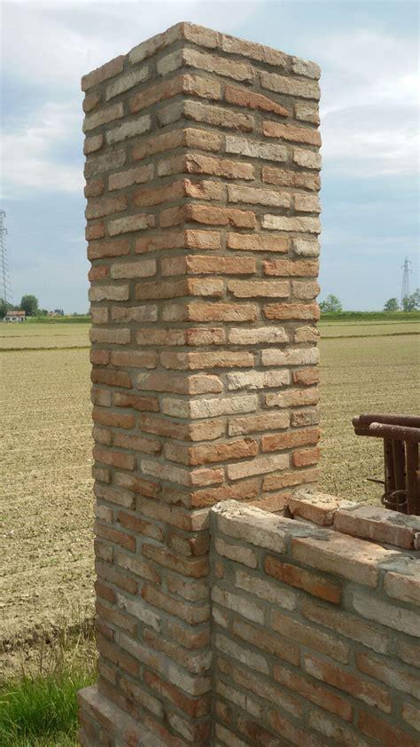 Muro In Mattoni by Muro Di Confine Recuperato Con Mattoni D Epoca Recupero