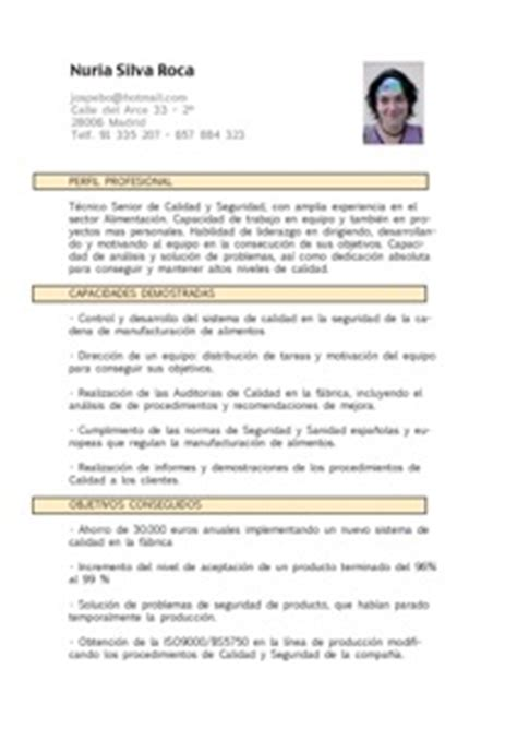 Modelo Curriculum Usa Resume Modelo Curriculum