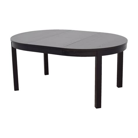 Ikea Oval Dining Table 84 Ikea Ikea Bjursta Extendable To Oval Dining Table Tables