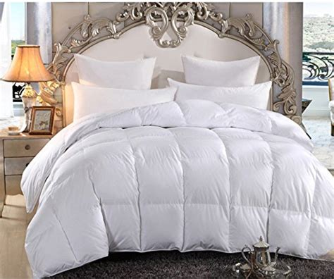 breathable comforter merax white box stitched alternative lightweight comforter