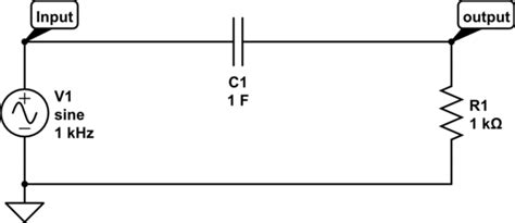 capacitor input output voltage gt circuits gt capacitor finding rc output voltage to a sine input l25997 next gr