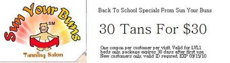 salon ultima coupons sun your buns columbus oh 43229 614 865 0120 tanning