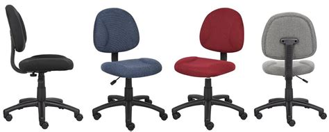 Armless Office Chairs With Wheels by Best Affordable Brand Boss Office Chairs Models And