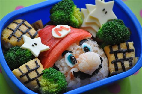 Some Sushi Mario Style With The Mario Bento Boxes by Bento Gaming
