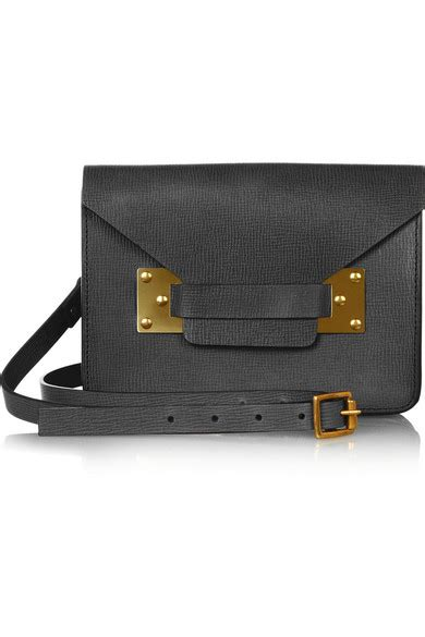 Mshc Shoulder Bag hulme envelope mini textured leather shoulder bag