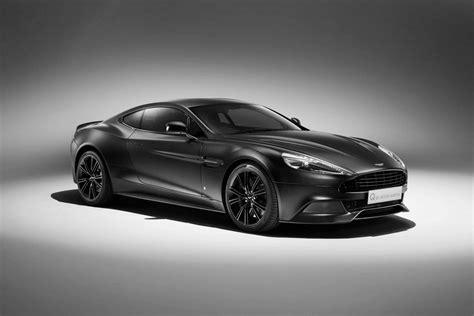 aston martin sedan black q by aston martin reveals new jet black vanquish coupe