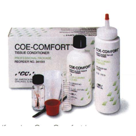 comfort comfort coe comfort tissue conditioner professional pack
