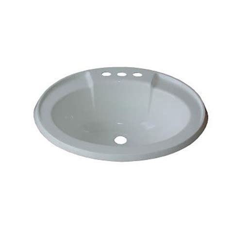 mobile home bathroom sinks 17 quot x 20 quot oval lavatory sink for mobile homes