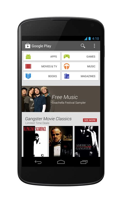 play store mobile playstore terbaru v 4 0 android generation