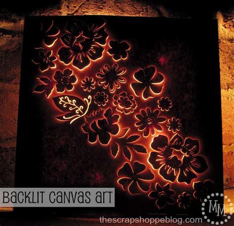 Backlit Canvas Wall Diy