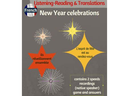 new year teaching resources new year celebrations listening reading translations
