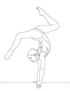 free printable gymnastics coloring pages for - Gymnastic Coloring Pages