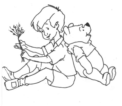 coloring pages of christopher robin christopher coloring pages
