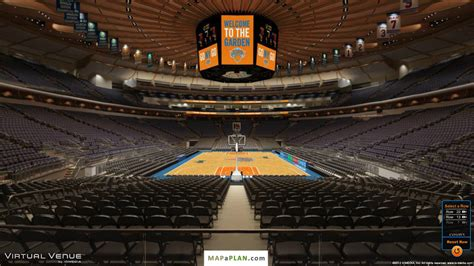 One Madison Floor Plans by Madison Square Garden Seating Chart Section 102 View
