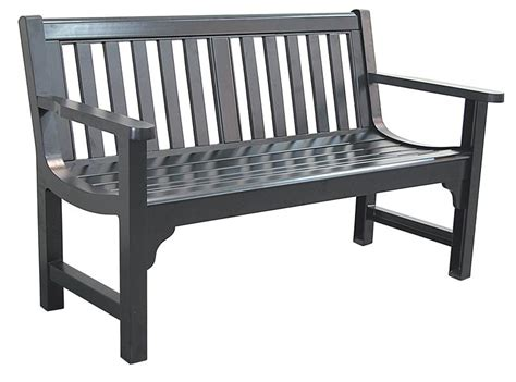 black metal park bench outdoor bench c624 37