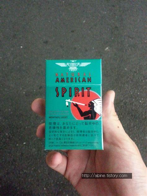 spirit menthol light 일본 담배 리뷰 spirit menthol light 아메리칸 스피릿 멘솔 라이트