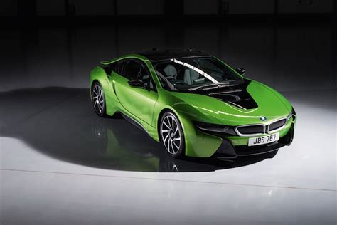 Rainbow Green drive the rainbow with new bmw i8 colors purple yellow