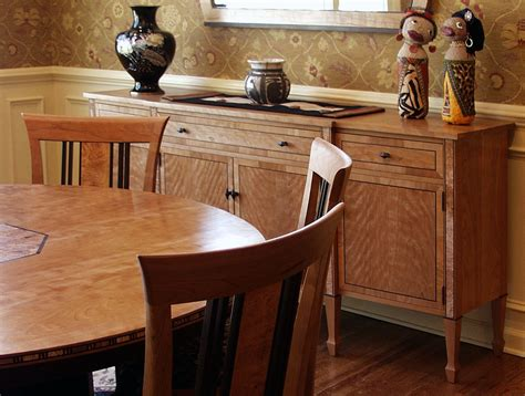Custom Made Dining Room Furniture Creating Interior Spaces One Furniture Maker S Perspective