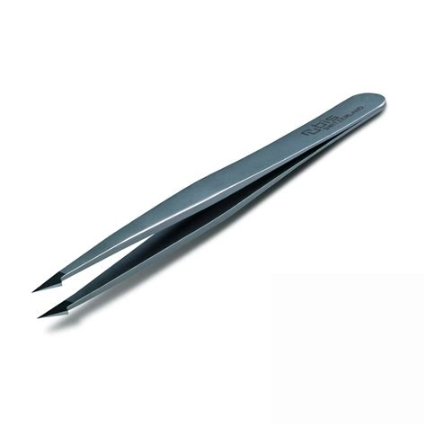 rubis tweezers buy rubis combination slant pointed tip tweezer at the proper moose