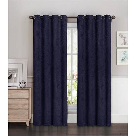 bella luna curtains bella luna blackout faux suede 54 in w x 84 in l room