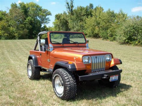 1988 jeep wrangler 1988 jeep wrangler turbo charged 4 bt cummins diesel