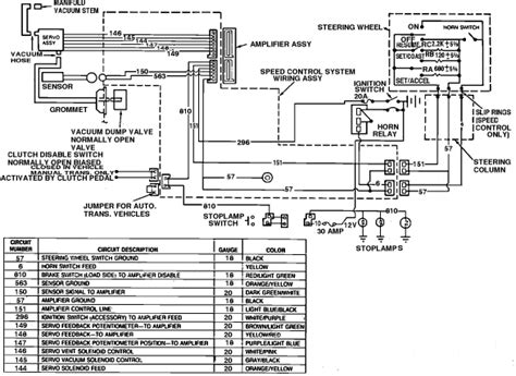 need wiring diagram for 1989 ford mustang cruise