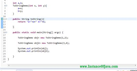 format date c tostring tostring method in java with exle program