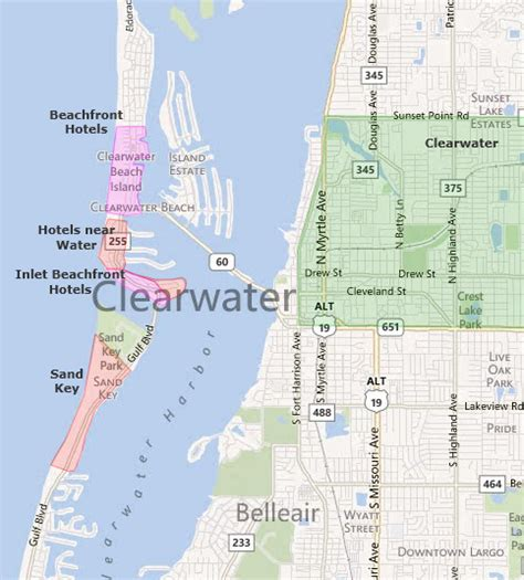 map of clearwater florida eppsconsulting