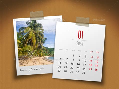 customizable calendar  photo frame   rapidgraf graphicriver