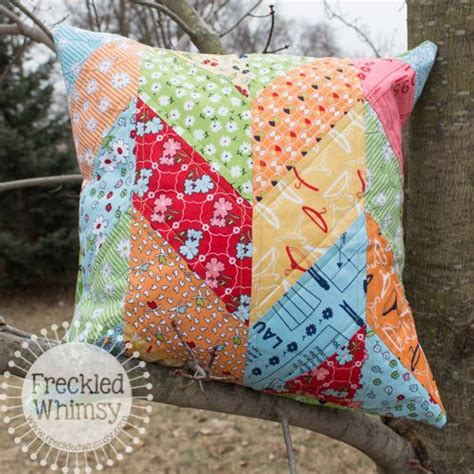 Sizzix Patchwork Dies - sizzix tutorial chevron pillow cover tutorial by karrie