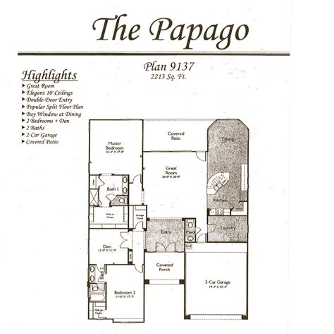 arizona floor plans arizona traditions floor plans jos 233 e plant pllc