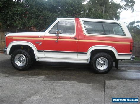 ford bronco for sale ford bronco for sale in australia