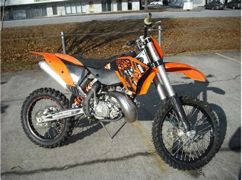 2009 Ktm 200 Xc Review 2009 Ktm 200 Xc For Sale On 2040 Motos