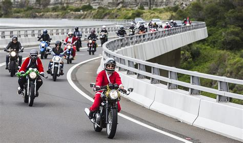 Bmw Motorrad Wollongong by Our First Santa Charity Ride City Coast Motorcycles