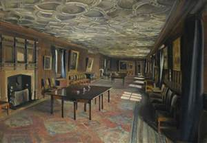 Emmanuel Dining Room The Combination Room At St John S College Cambridge Art Uk