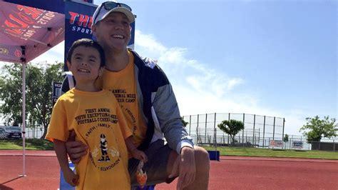 Kmph Giveaway Phone Number - future nfl quarterback josh allen a celebrity at mendota football c kmph