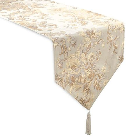 90 inch table runner buy waterford 174 linens marcelle 90 inch table runner in