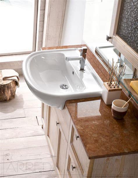 mobili bagno lavabo semincasso mobile arredo bagno country lavabo semincasso base a terra