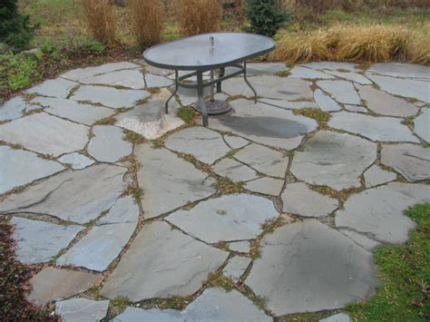 Blue Flagstone Patio by Color Bluestone Is A Popular Choice For A Flagstone Patio