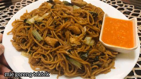mie goreng tektek ala chinese food youtube