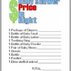 Cool Housewarming Gifts Price Is Right Free Printable Baby Shower Game Tip Junkie