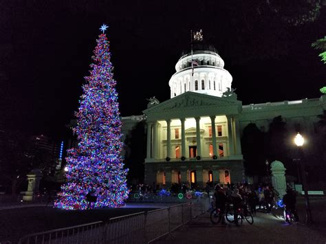 sacramento capital christmas decorations sacramento lights and the fab 40 s steemit