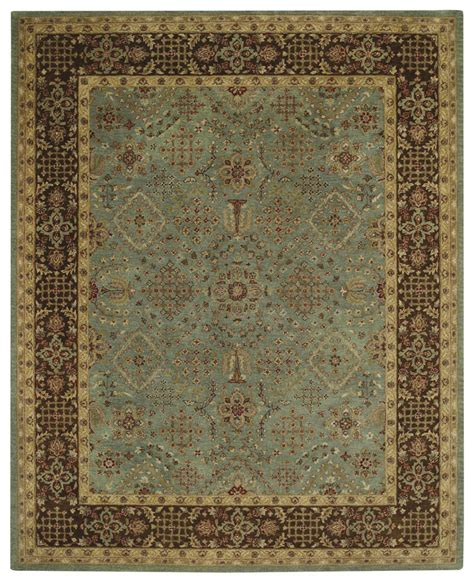 caple rugs capel 3287 425 blue cocoa rug