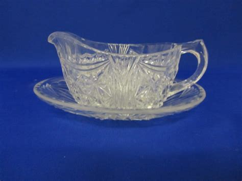 gravy boat glass glass ware highly collectable depression glass gravy